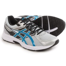 ASICS GEL-Contend 3 Running Shoes (For Men) in Silver/Electric Blue/Black - Closeouts