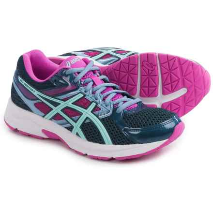 ASICS GEL-Contend 3 Running Shoes (For Women) in Blue/Aqua/Pink Glow - Closeouts