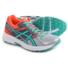 ASICS GEL-Contend 3 Running Shoes (For Women) in Silver/Pool Blue/Flash Coral - Closeouts