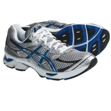 Asics GEL-Cumulus 13 Running Shoes (For Men) in White/Royal/Black - Closeouts