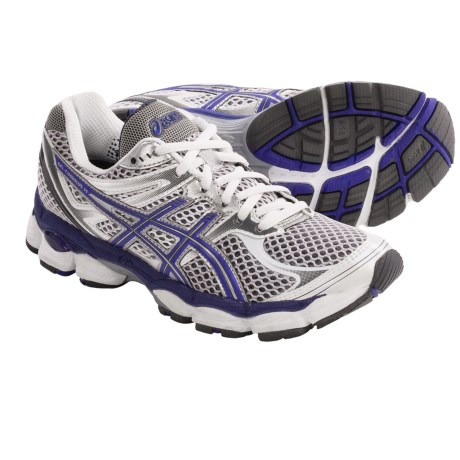 Asics GEL®-Cumulus 14 Running Shoes (For Women) in Storm/Brilliant Blue/Aqua