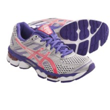 Asics GEL-Cumulus 15 Running Shoes (For Women) in Lightning/Hot Punch/Purple - Closeouts