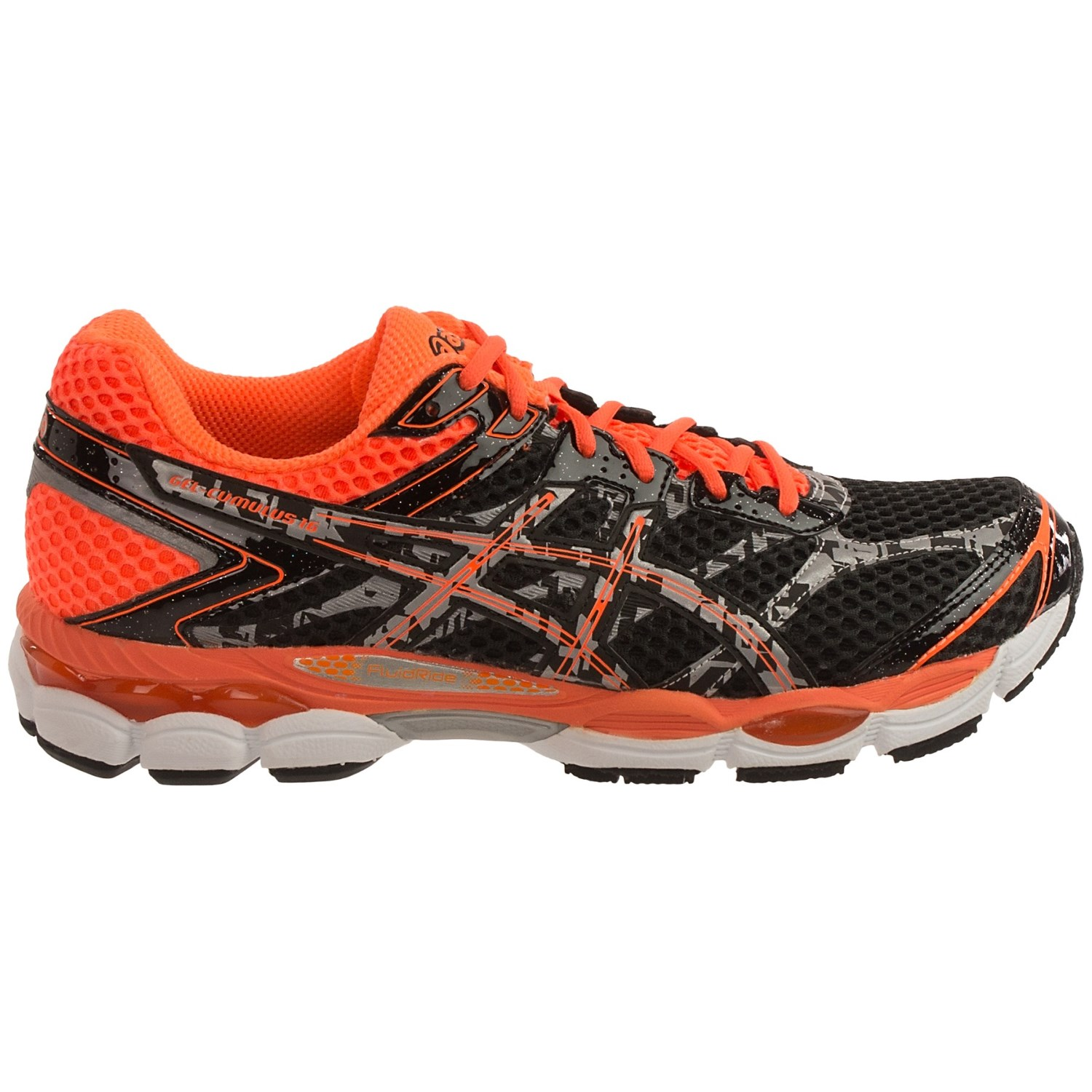 asics gel cumulus 16 lite show running shoes for