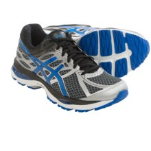 ASICS GEL-Cumulus 17 Running Shoes (For Men) in Mix Grey/Electric Blue/Black - Closeouts