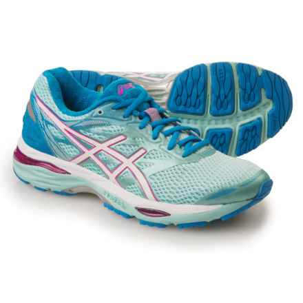 ASICS GEL-Cumulus 18 Running Shoes (For Women) in Aqua Splash/White/Pink Glow - Closeouts