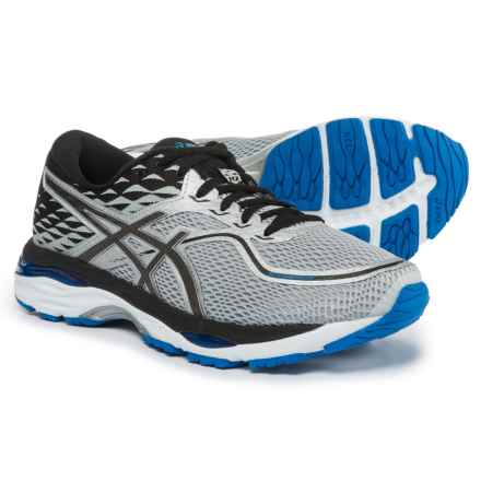 ASICS GEL-Cumulus 19 Running Shoes (For Men) in Glacier Grey/Black/Directoire Blue - Closeouts