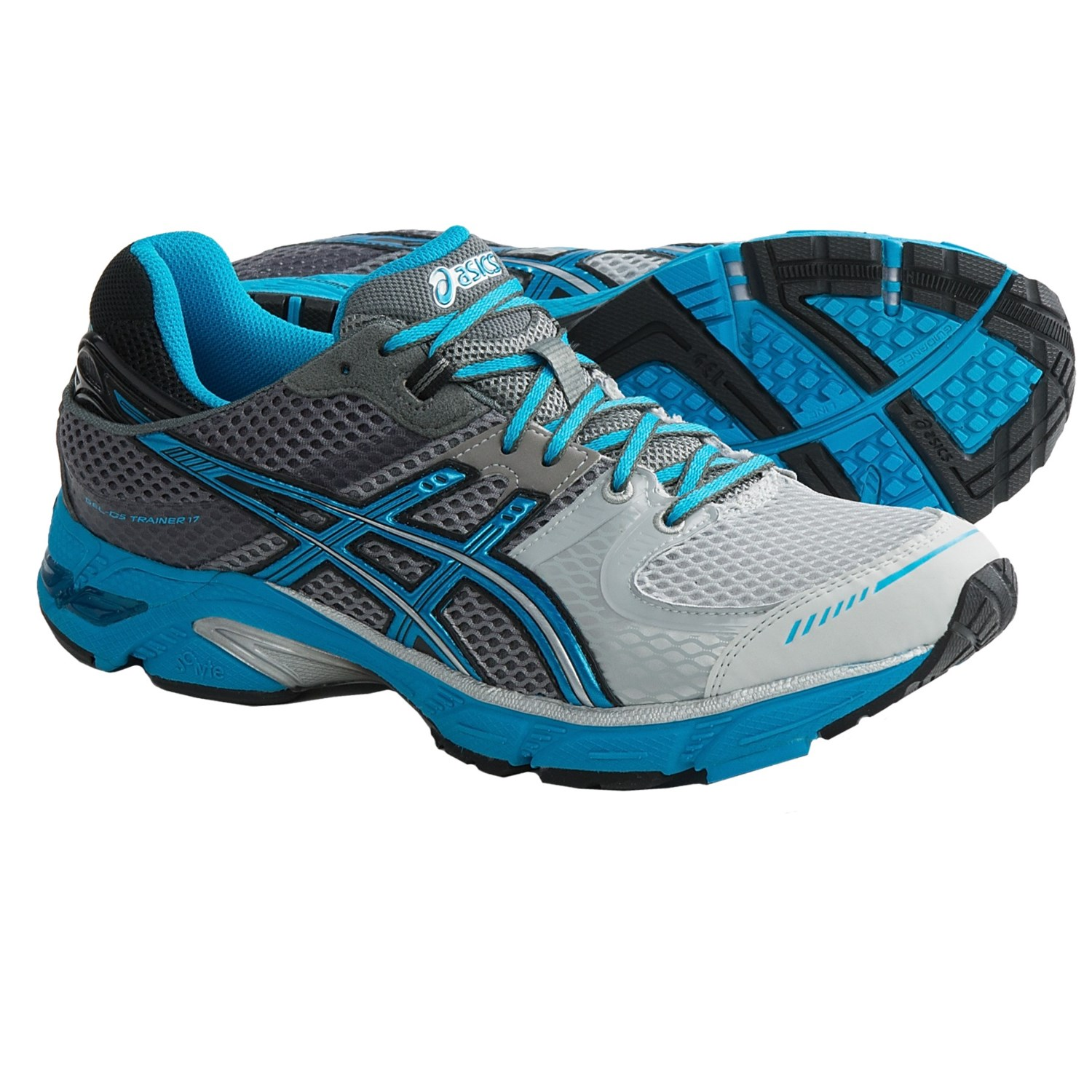 asics gel instinct 33 running shoes for men in onyx black electric