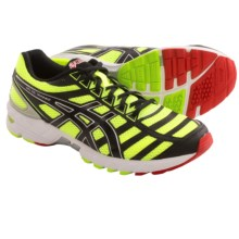 Asics Gel DS Trainer 18 Running Shoes (For Men) in Flash Yellow/Black/Red - Closeouts
