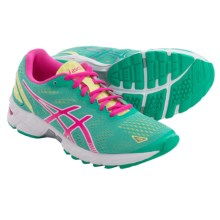 ASICS GEL-DS Trainer 19 Running Shoes (For Women) in Emerald/Hot Pink/Sunny Lime - Closeouts