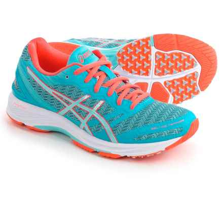 ASICS GEL-DS Trainer 22 Running Shoes (For Women) in Aquarium/Aqua Splash/Coral - Closeouts