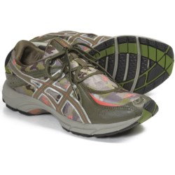 Asics GEL-Euphoria Plus Shoes - Lace-Ups (For Women) in Camo/Army Green