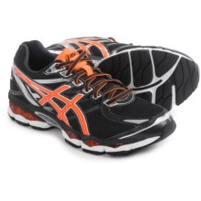 ASICS GEL-Evate 3 Running Shoes (For Men) in Black/Hot Orange/Silver - Closeouts