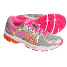 ASICS GEL-Exalt 2 Running Shoes (For Women) in Charcoal/Flame/Hot Pink - Closeouts