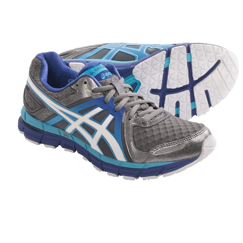 Asics GEL-Excel33 2 Running Shoes (For Women) in Titanium/White