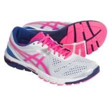 ASICS GEL-Excel33 V3 Running Shoes (For Women) in White/Hot Pink/Blue - Closeouts