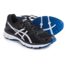 ASICS GEL-Excite 3 Running Shoes (For Men) in Black/Silver/Blue - Closeouts