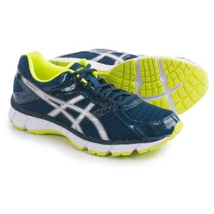 ASICS GEL-Excite 3 Running Shoes (For Men) in Ink/Silver/Flash Yellow - Closeouts