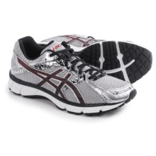 ASICS GEL-Excite 3 Running Shoes (For Men) in Silver/Black/Red - Closeouts