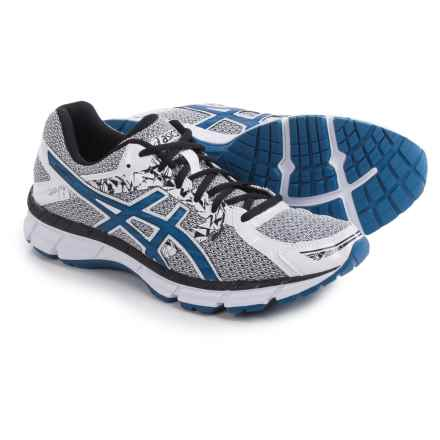 ASICS GEL-Excite 3 Running Shoes (For Men) in White/Snorkel Blue/Black - Closeouts