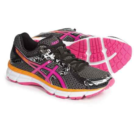 ASICS GEL-Excite 3 Running Shoes (For Women) in Black/Hot Pink/Orange - Closeouts