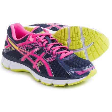 ASICS GEL-Excite 3 Running Shoes (For Women) in Midnight/Hot Pink/Flash Yellow - Closeouts