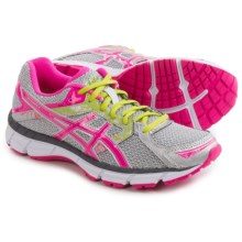 ASICS GEL-Excite 3 Running Shoes (For Women) in Silver/Hot Pink/Lime Punch - Closeouts