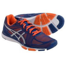 ASICS GEL-Exert TR Cross-Training Shoes (For Men) in Dark Blue/Silver/Orange - Closeouts