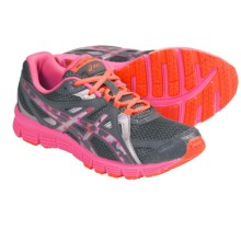 Asics GEL-Extreme33 GS Running Shoes (For Youth) in Titanium/White/Hot Pink - Closeouts