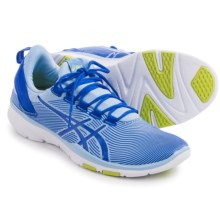 ASICS GEL-Fit Sana 2 Cross-Training Shoes (For Women) in Blue/Blue Purpl/Lime - Closeouts