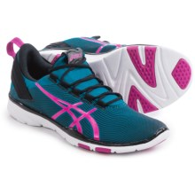 ASICS GEL-Fit Sana 2 Cross-Training Shoes (For Women) in Mosaic Blue/Pink Glow/Onyx - Closeouts