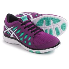 ASICS GEL-Fit Tempo 2 Cross-Training Shoes (For Women) in Grape/White/Aqua Mint - Closeouts