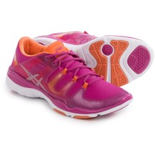 ASICS GEL-Fit Vida Cross-Training Shoes (For Women) in Berry/Silver/Melon - Closeouts