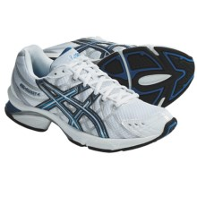 Asics GEL-Fluent 4 Running Shoes (For Women) in White/Malibu/Silver - Closeouts