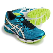 ASICS GEL-Flux 2 Running Shoes (For Men) in Atom Blue/White/Safety Yellow - Closeouts