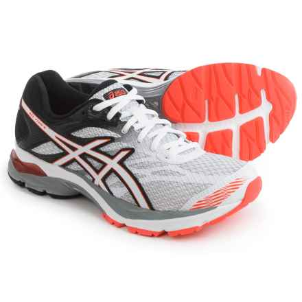 ASICS GEL-Flux 4 Running Shoes (For Women) in White/Snow/Coral - Closeouts