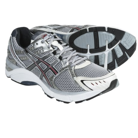 Asics GEL-Foundation 10 Running Shoes (For Men) in Lightning/Black/Flame
