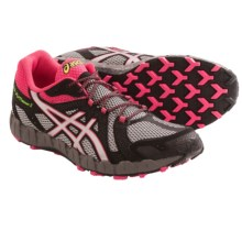 ASICS Gel-Fuji Trainer 3 Trail Running Shoes (For Women) in Aluminum/Lightning/Rouge - Closeouts