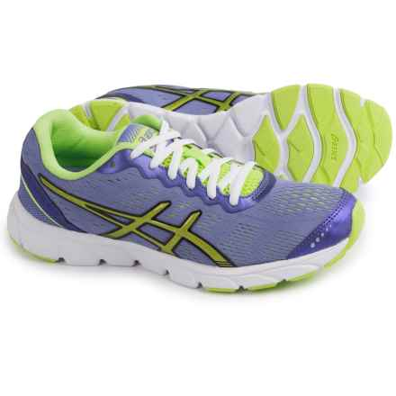 ASICS GEL-Havoc Running Shoes (For Women) in Purple/Sharp Green/White - Closeouts