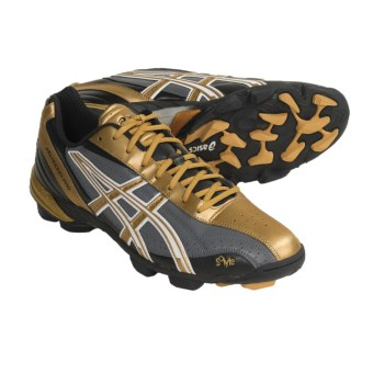 Asics GEL-Hockey Pro Field Hockey Shoes (For Men) in Black/Gold/Storm