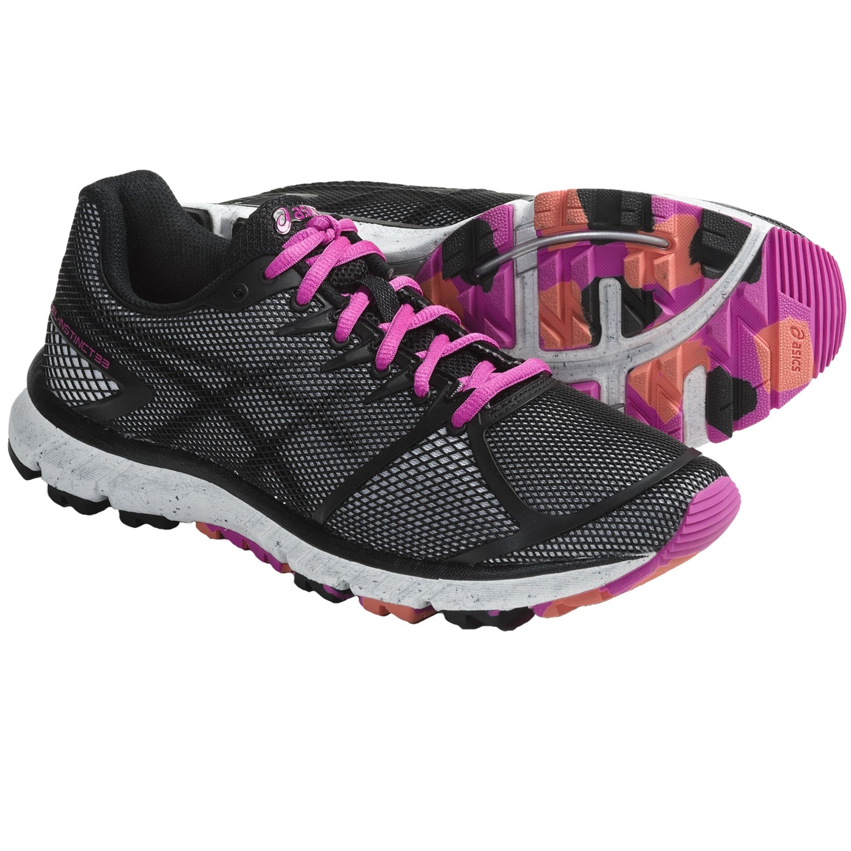 Asics GEL-Instinct 33 Running Shoes (For Women) in Onyx/Black