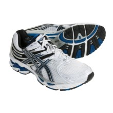 Asics GEL-Kayano 16 Running Shoes (For Men) in White/Royal/Lightning - Closeouts