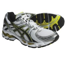 Asics GEL-Kayano 17 Running Shoes (For Men) in Snow/Black/Lime - Closeouts