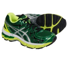 ASICS GEL-Kayano 20 Running Shoes (For Little and Big Kids) in Pine/Lightning/White - Closeouts