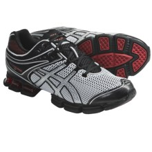 Asics GEL-Kushon 3 Running Shoes (For Men) in Black/Onyx/Chinese Red - Closeouts