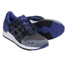 ASICS GEL-Lyte III Sneakers (For Men) in Black/Black/Blue - Closeouts