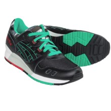 ASICS GEL-Lyte III Sneakers (For Men) in Black/Black/Green - Closeouts