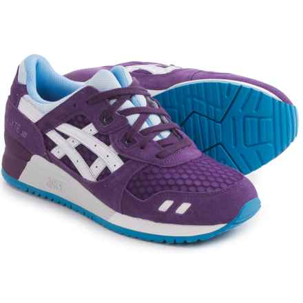 ASICS GEL-Lyte III Sneakers (For Women) in Purple/White - Closeouts
