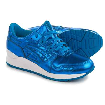 ASICS GEL-Lyte III Sneakers - Leather (For Women) in Classic Blue/Classic - Closeouts