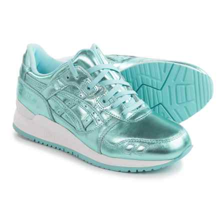 ASICS GEL-Lyte III Sneakers - Leather (For Women) in Ice Blue/Ice Blue - Closeouts