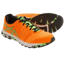 ASICS GEL-Lyte33 2 Running Shoes - Minimalist (For Men) in Flash Orange/Apple Green/Black - Closeouts